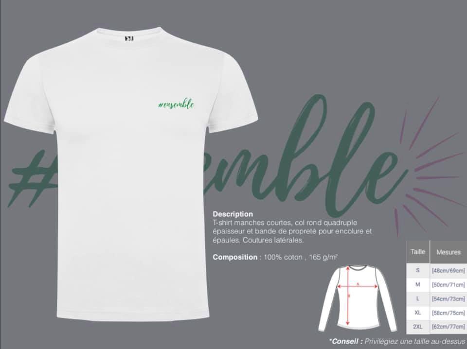 Vente de T-Shirts au profit du Fonds Bertrand-Kamal